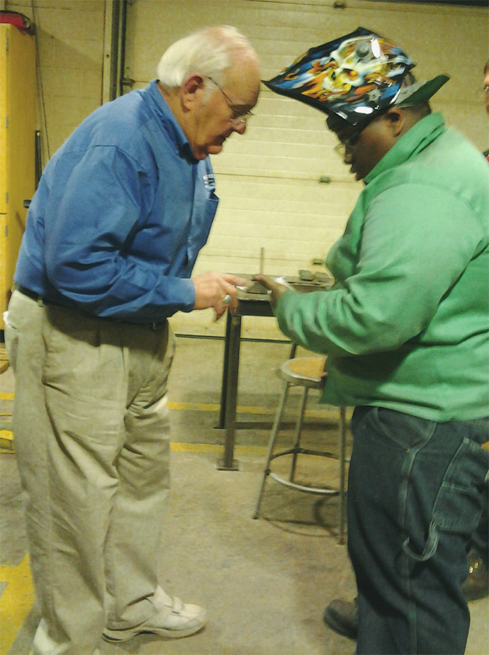 In Plant Industrial Welding Training Lew Kinney